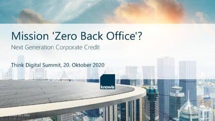 Mission Zero Back Office